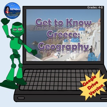 Get to Know Greece Geography | Google Drive Version | Distance Learning