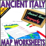 Ancient Rome Mapping Activity | Italy Geography