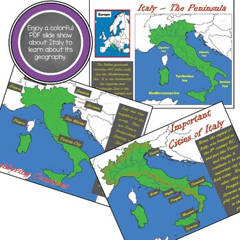 Get to Know Italy - Geography