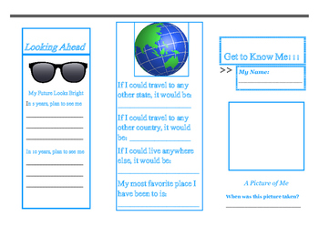 Get to Know Me - A Tell All Brochure