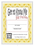 Get to Know Me Packet