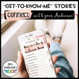 Get to Know Me Story Templates - Instagram Stories {FLORAL}