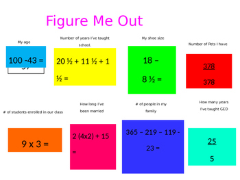 Back to School Get to Know Me - Introduce Yourself in a Fun Way!