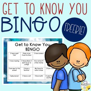 get to know you bingo pdf
