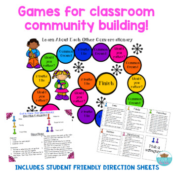 Get to Know You Board Games!