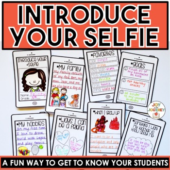 Get to Know You Booklet: Introduce Your Selfie