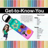 Back to School Virtual Bundle (All Activities) | Get-to-Kn