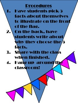 Get-to-Know You Flag Activity