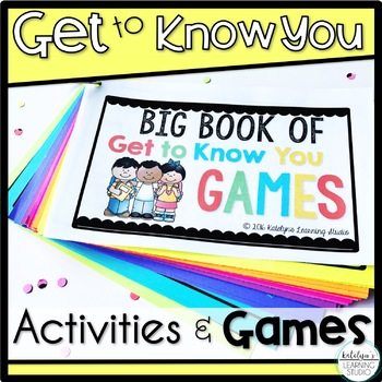 Get to Know You Games, Ice-Breakers, and Activities