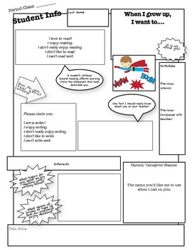 Get to Know You Graphic Organizer