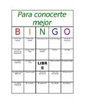 Get to Know You Icebreaker Bingo (Spanish Class)