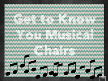 Get to Know You Musical Chairs
