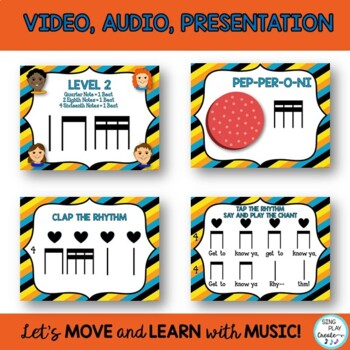 """Upper Elementary Music Class Chant,Game and Rhythm Lesson: """"Get to Know Ya"""""""