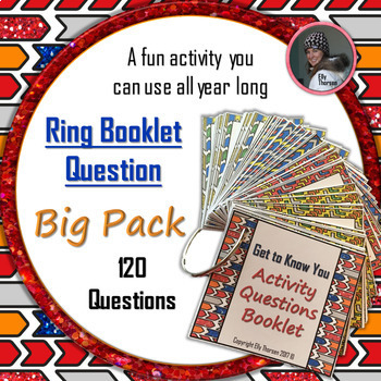 Get to Know You Ring Booklet Questions Activity: BIG PACK