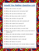 Get to Know You Ring Booklet Questions Activity BUNDLE