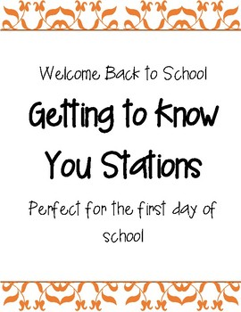 Get to Know You Stations