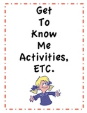 Get to Know Your Class Activities