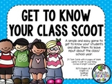 Get to Know Your Class SCOOT