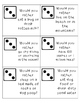 Get to Know Your Classmates Dice Game!
