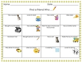 Get to Know Your Friends/Classmates Activity