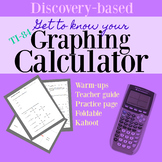 Get to Know Your Graphing Calculator