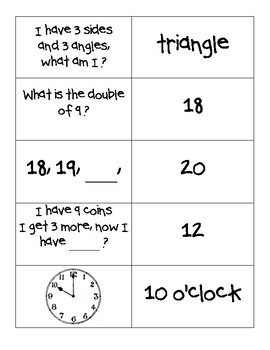 Get to Know You Math Activity