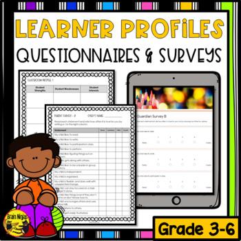 Learner Profiles & Surveys