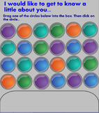 Get to Know Your Students -- Interactive Whiteboard Game!