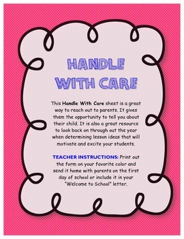 Get to Know Your Students: Reach Out to Parents