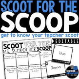 Get to Know Your Teacher   Back to School Task Cards Scoot