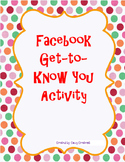 Facebook Page for First Day