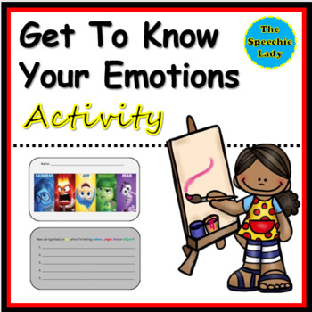 Get to Know your Emotions activity