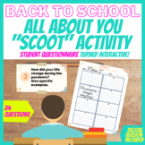 Get to Know your Students - Back to School Interactive Activity