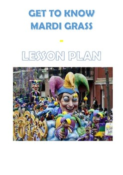 Get to know Mardi Gras - Lesson plan