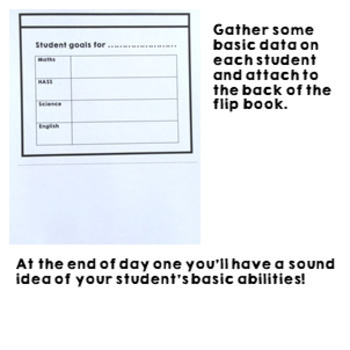 Get to know you activities YEAR ONE flip book Australian Curriculum