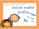 Get to know me! Students social media profile