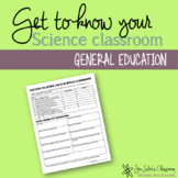 Get to know your classroom EDITABLE