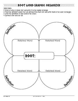 Worksheets Greek Root Words Worksheets free greek and latin root w by got to teach teachers pay word activities