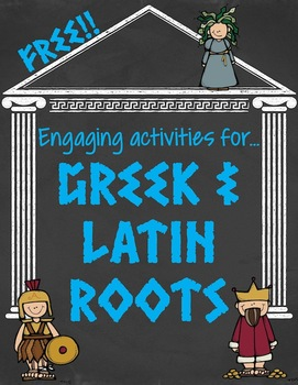 FREE Greek and Latin Root Word Activities by Got to Teach ...
