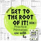 Greek and Latin Root Words {Book 1}