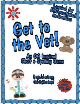 Get to the Vet! An Orton-Gillingham Inspired Short e Spell