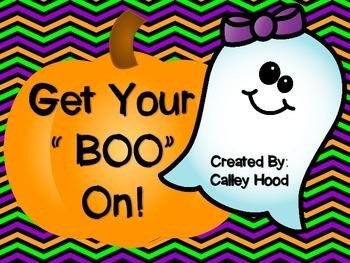 Get your Boo on