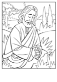 Gethsemane and the Betrayal of Jesus Coloring