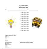 Gets a Bright Idea - Magic School Bus Quiz - Multiple Choice