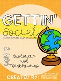 Gettin' Social Unit 3- Explorers and Thanksgiving