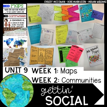 Gettin' Social Unit 9- Maps and Communities