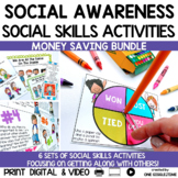 Social Stories Getting Along Bundle Print Digital Video