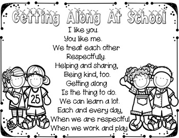 Getting Along at School #weholdthesetruths #kindnessnation
