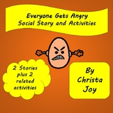Getting Angry Social Stories, Activities and Power Cards