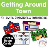 Getting Around Town: Listening Activity UPDATED!